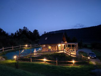 Całoroczny Domek z widokiem na jezioro