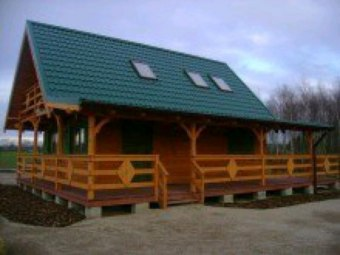 Domek drewniany 100m do własnej plaży