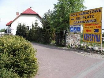 """""""Krystyna"""" w Rowach,pole namiotowe,pokoje,kwatery,domki"""