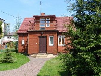 Domek w Augustowie nad jeziorem Necko
