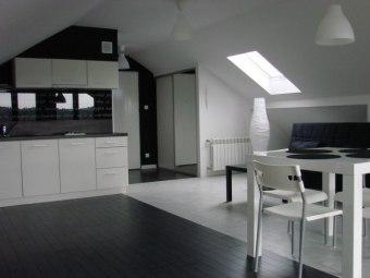 Apartament Black & White