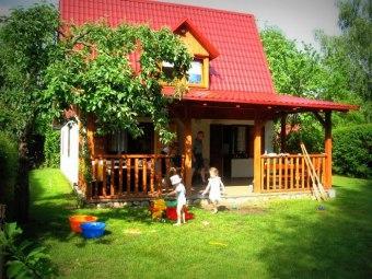 Domek letniskowy - jezioro / wieś Warchały