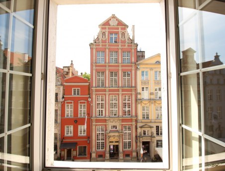 Apartament nr 1 i nr 2 na Długiej - widok