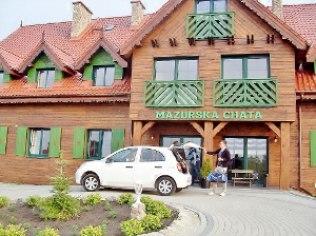 "Banquets corporate - ""Mazurska Chata"", 480 m od aquaparku"