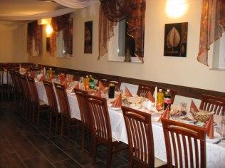 Banquets corporate - Ośrodek Wypoczynkowy eFKa Wiele