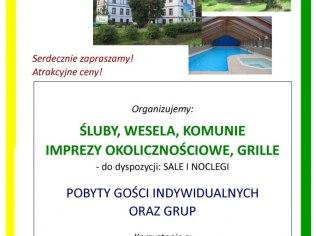 Occasional events: vows, weddings, communions, - Ośrodek Wczasowo-Rekreacyjny Relax