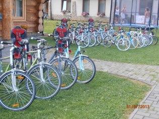 rowery z fotelikami
