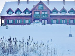 "The Winter Holidays - ""Mazurska Chata"", 480 m od aquaparku"