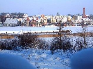 "Romantic winter stay 2-day - ""Mazurska Chata"", 480 m od aquaparku"