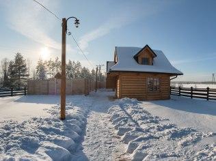 Skiing season - Domek nad Jeziorem Czorsztyńskim