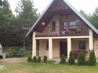 Holidays, vacation in Mazury Jerutki - Dom 10-osob. Mazur