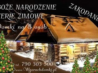 Christmas - Domek w Górach pod Wyciagiem Zakopane