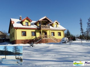 Lake house for 24 people or apartments - Mazurski Raj - Luksusowy dom i apartamenty 110m2