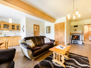 Comfortable apartments with a fireplace - Zakopane apartamenty Forster House