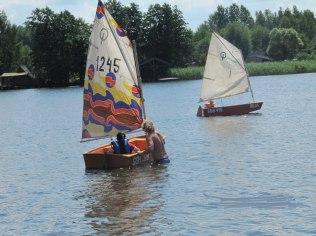 A half-circle of water sports - Marina Kociewska resort & water sports