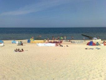 plaża w Mielenku