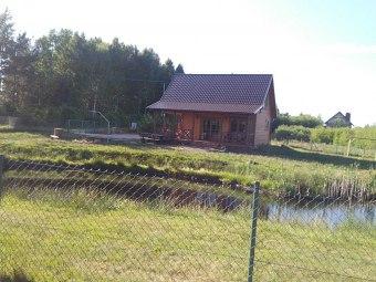 Domek na Kaszubach kominek sauna staw