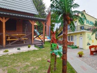Domki i pokoje Pod Palmami w centrum