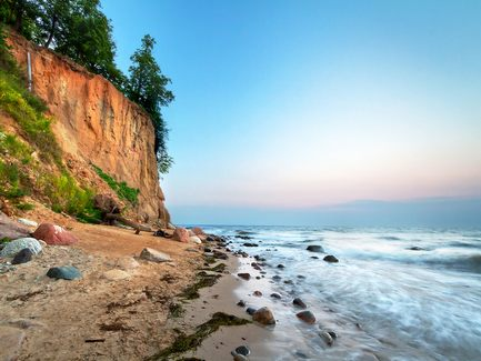 Accommodations on the Baltic Sea coast